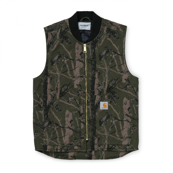 Carhartt Classic Vest Camo Tree Green Rinsed
