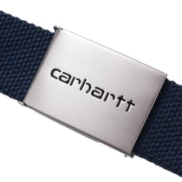 Carhartt Clip Belt Chrome Blue