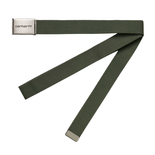Carhartt Clip Belt Chrome Dollar Green