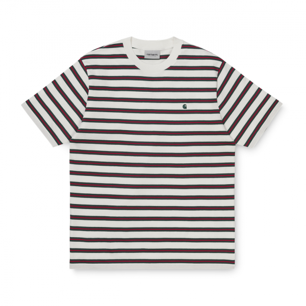Carhartt Oakland T-Shirt Oakland Stripe / Wax Treehouse