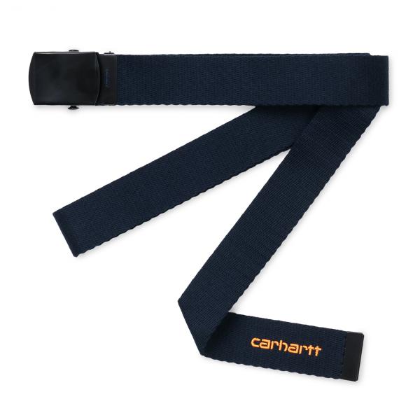 Carhartt Orbit Belt Dark Navy / Pop Orange