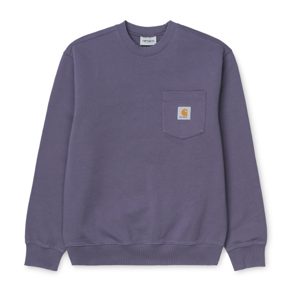 Carhartt Pocket Sweat Decent Purple