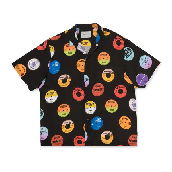 Carhartt SS Record Shirt Black