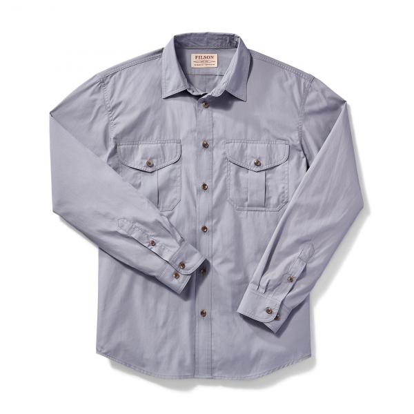 Filson Feather Cloth Shirt Smoke Blue