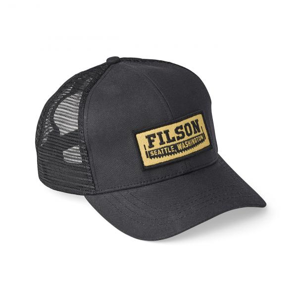 Filson Mesh Logger Cap Black