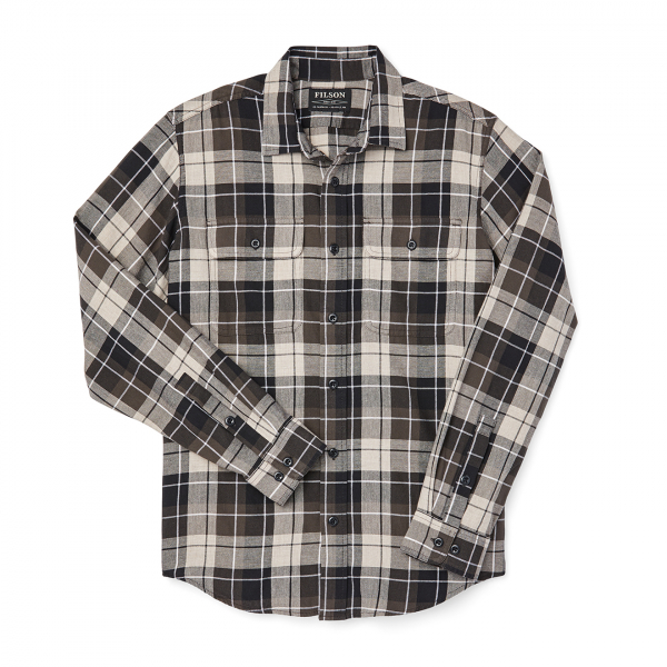 Filson Scout Shirt Olive Black Tan Plaid