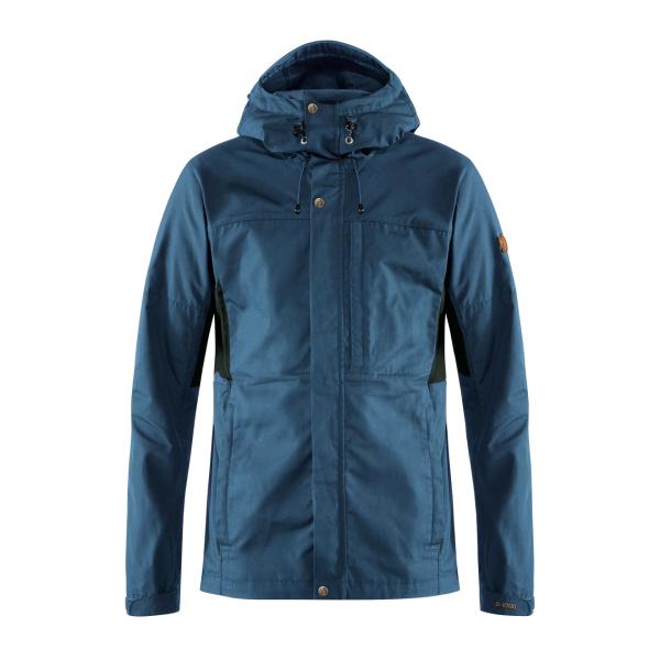 Fjallraven Kaipak Jacket Uncle Blue / Dark Grey