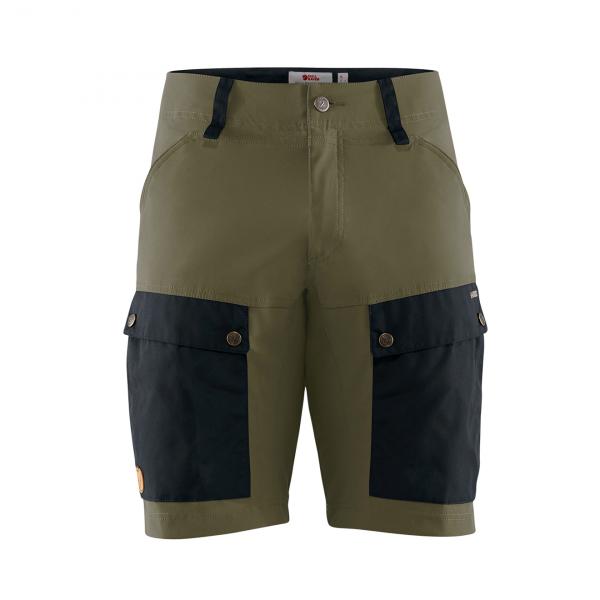 Fjallraven Keb Shorts Dark Navy / Light Olive