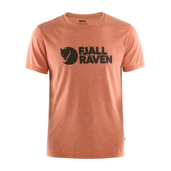 Fjallraven Logo T-Shirt Rowan Red Melange