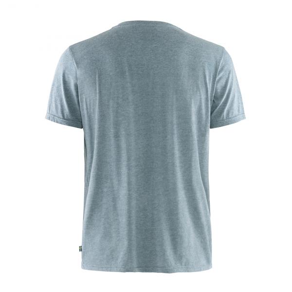 Fjallraven Logo T-Shirt Uncle Blue Melange