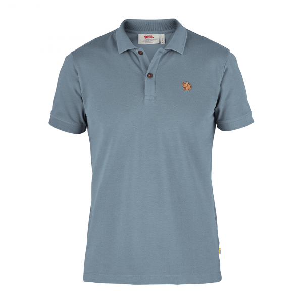 Fjallraven Ovik Polo Shirt Clay Blue