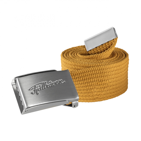 Fjallraven Ovik Webbing Belt Golden Yellow