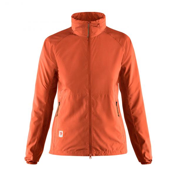 Fjallraven Womens High Coast Lite Jacket Rowan Red