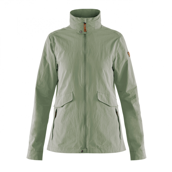 Fjallraven Womens Travellers MT Jacket Sage Green