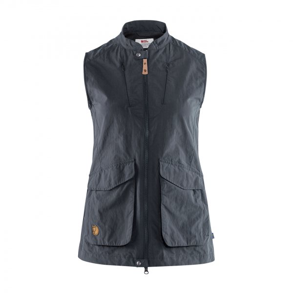 Fjallraven Womens Travellers MT Vest Dark Navy