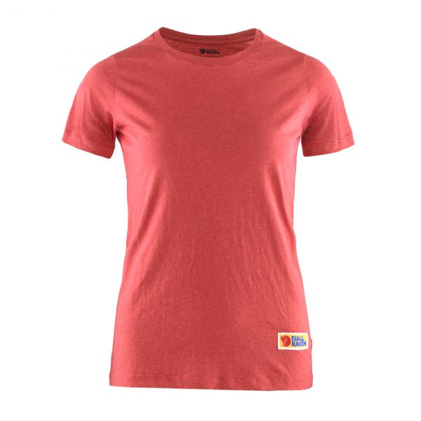 Fjallraven Womens Vardag T-Shirt Red