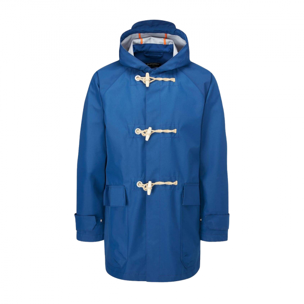 Gloverall Mersey Duffle KCTH Fabric Blue