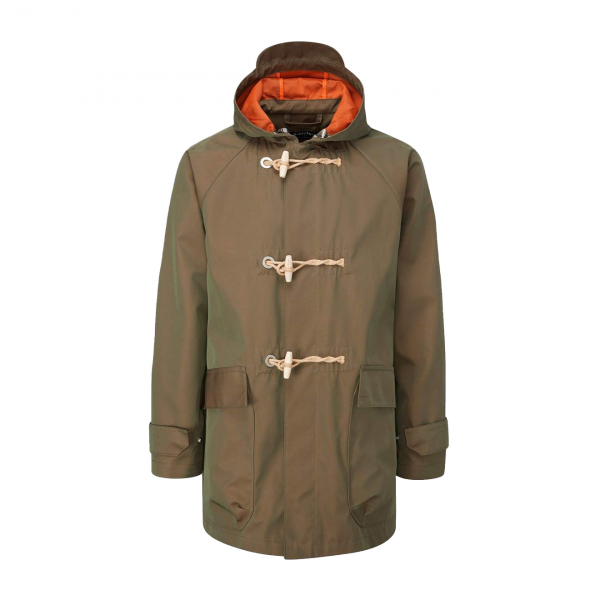 Gloverall Mersey Duffle Park Fabric Olive