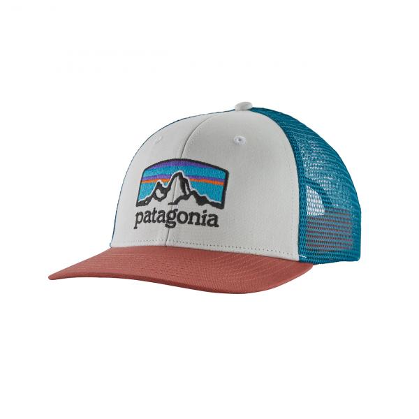 Patagonia Fitz Roy Horizons Trucker Hat White