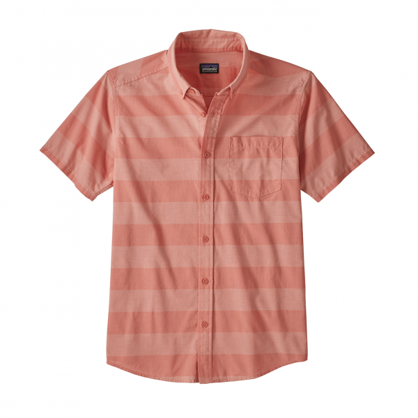 Patagonia Lightweight Bluffside Shirt Boll Stripe/Mellow melon