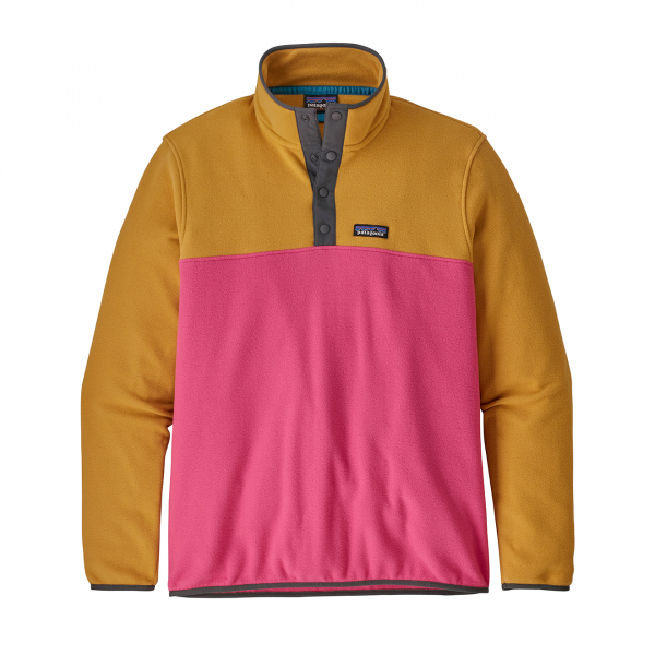 Patagonia Micro D Snap-T Fleece Pullover Ultra Pink