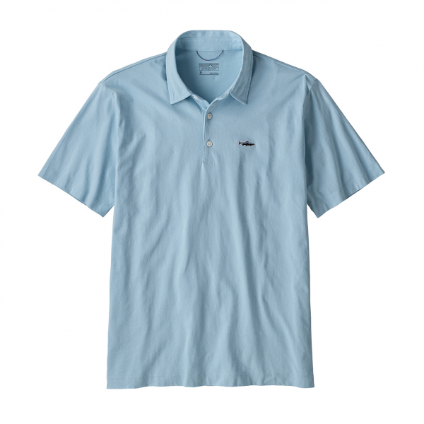 Patagonia Polo Trout Fitz Roy Big Sky Blue