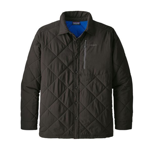 Patagonia Tough Puff Shirt Black w/Viking Blue