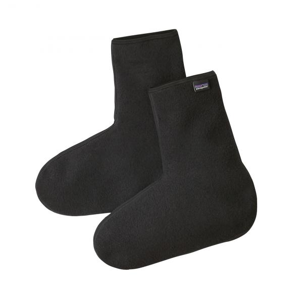 Patagonia Winter Weight Fleece Oversocks Black