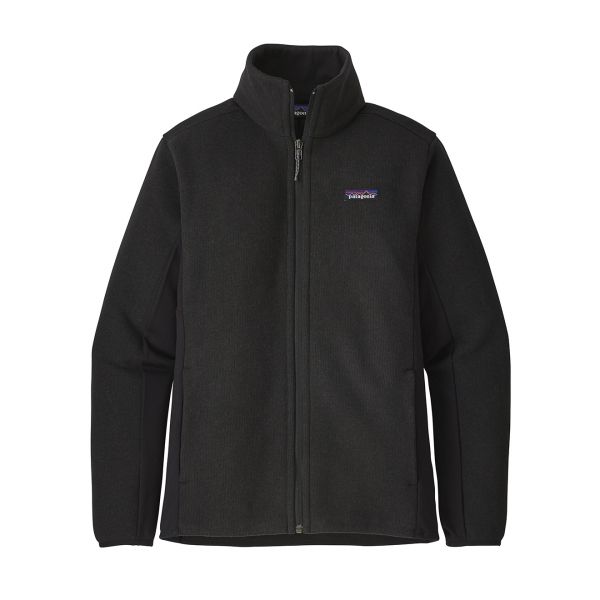 Patagonia Womens Lightweight Better Sweater Fleece Jacket Black