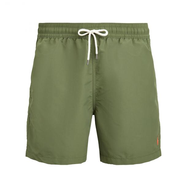 """Polo Ralph Lauren 5"""" Traveller Swim Short Supply Olive"""