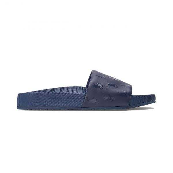 Polo Ralph Lauren Cayson Pony Slide Sandal Navy