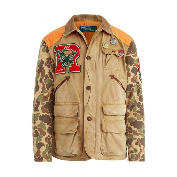 Polo Ralph Lauren The Hybrid Mowhawk Jacket Multi Khaki