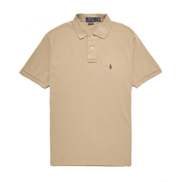 Polo Ralph Lauren Slim Fit Polo Shirt Khaki