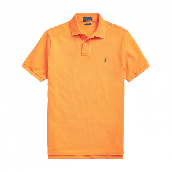 Polo Ralph Lauren Slim Fit Polo Shirt Orange