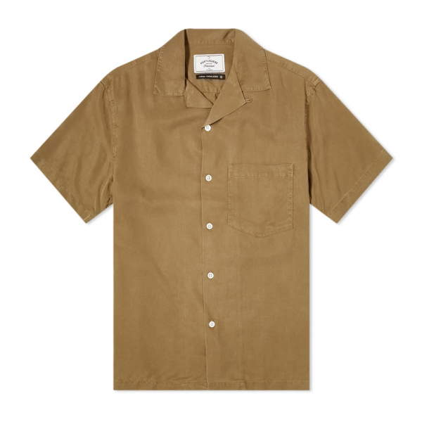 Portuguese Flannel Dogtown SS Shirt Olive