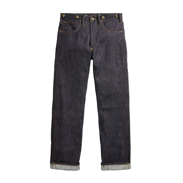 RRL by Ralph Lauren Limited Edition Selvedge Straight Leg Jean Rigid