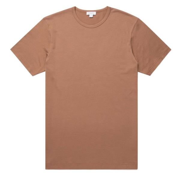 Sunspel Classic Crew T-Shirt Tobacco
