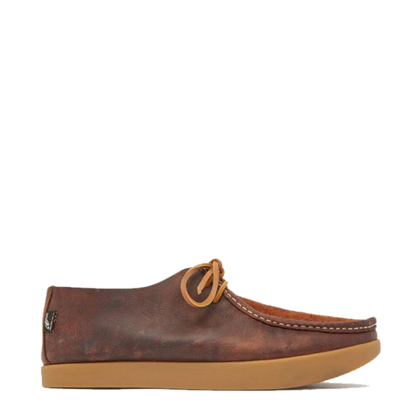Yogi Willard Reverse Vamp Shoe Mid Brown