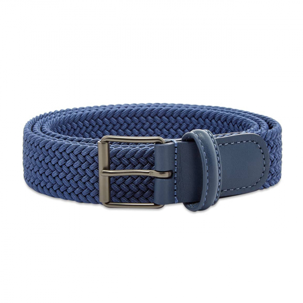 Andersons B0765 Slim Woven Textile Belt RAF Blue