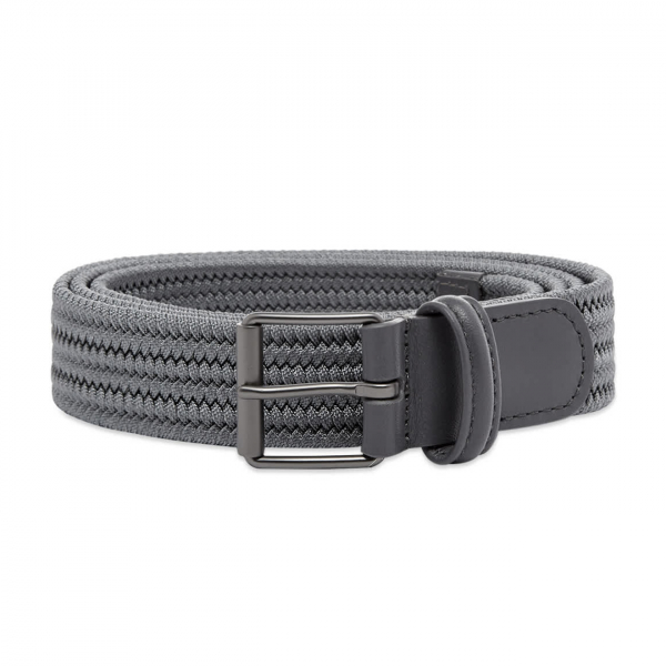 Andersons B0765 Slim Woven Textile Belt Grey
