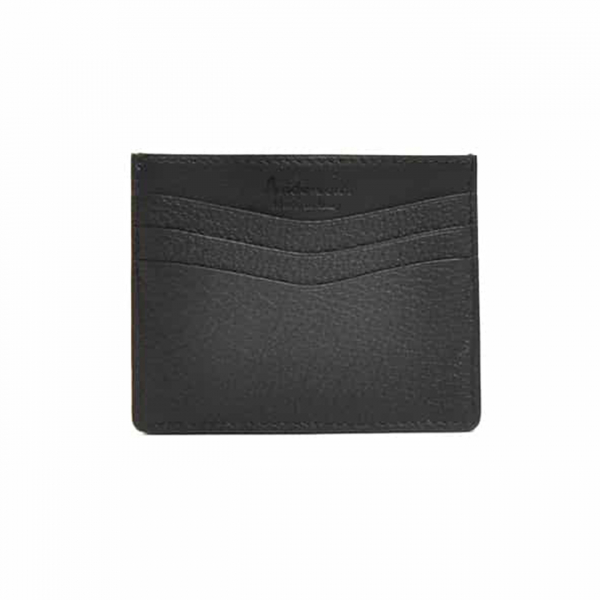 Andersons Leather Card Holder Black
