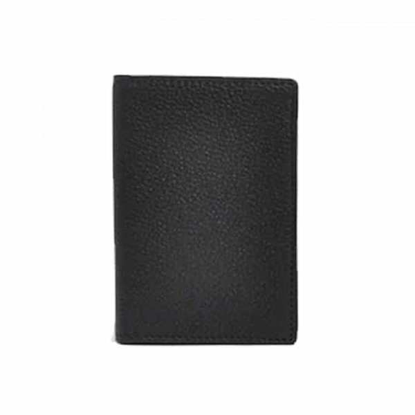 Andersons Leather Card Wallet Black