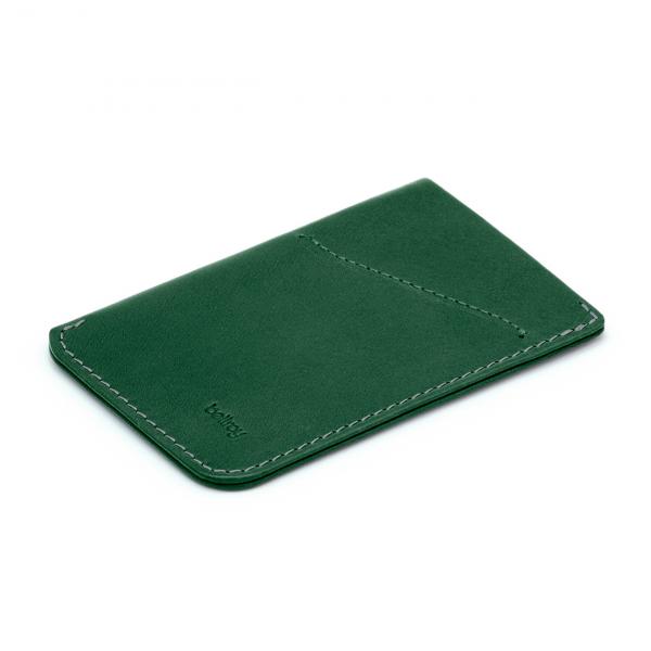 Bellroy Card Sleeve Racing Green