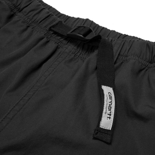 Carhartt Clover Short Black Rinsed
