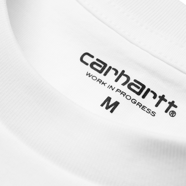 Carhartt Pocket T-Shirt White