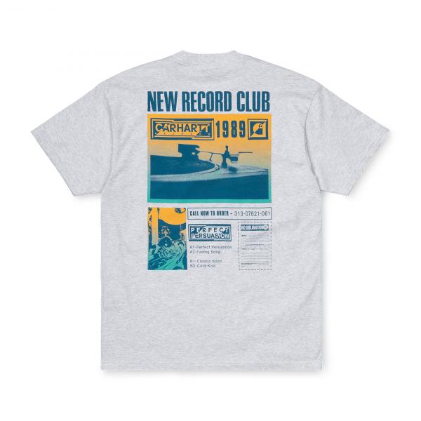 Carhartt Record Club T-Shirt Ash Heather