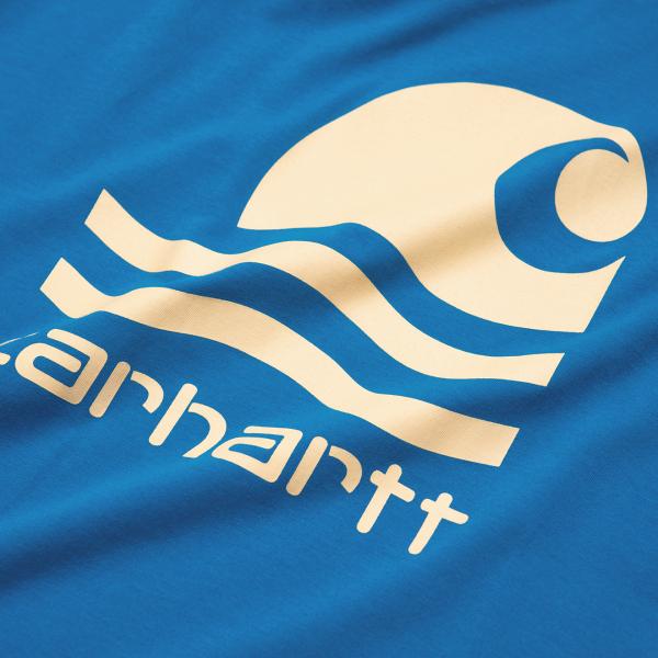 Carhartt Swim T-Shirt Azzuro / Fresco