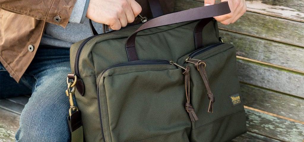 Filson Tin Cloth Bag