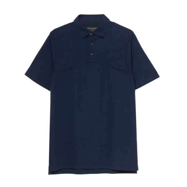 James Purdey Sporting Polo Shirt Navy
