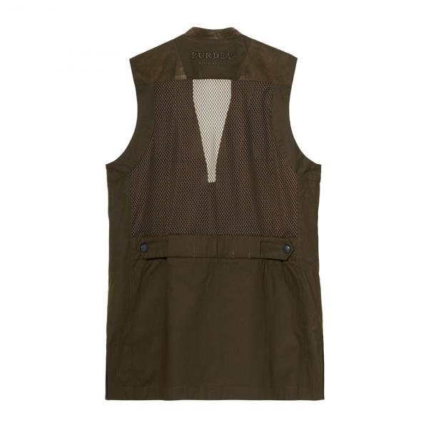James Purdey Summer Sporting Vest Dark Green